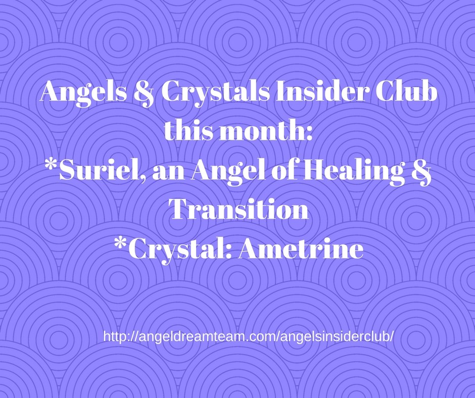 Angels & Crystals post