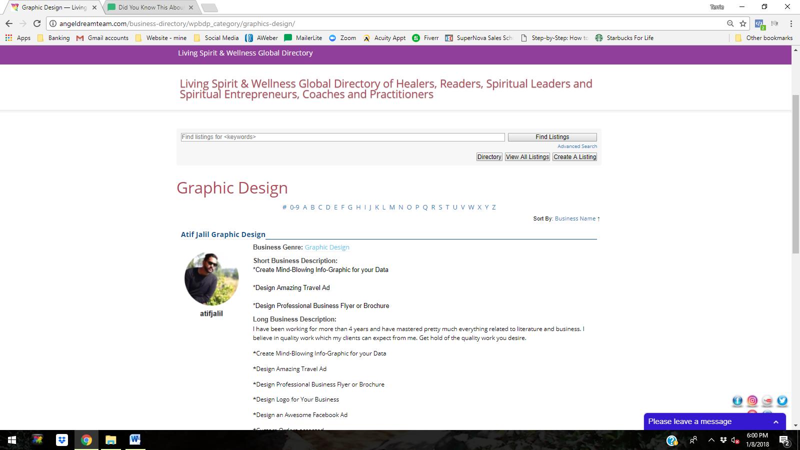 Directory Graphic Designers