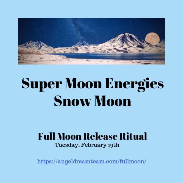 Full Moon Release Ritual